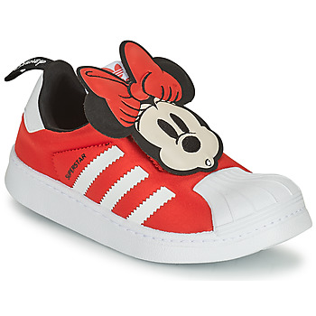 Schoenen Meisjes Lage sneakers adidas Originals SUPERSTAR 360 C Rood / Minnie