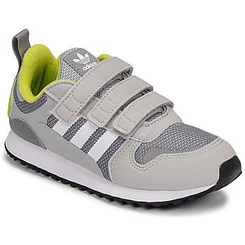 Schoenen Jongens Lage sneakers adidas Originals ZX 700 HD CF C Grijs / Groen