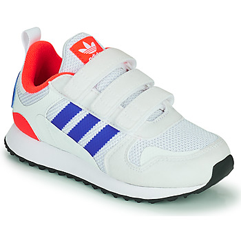 Schoenen Kinderen Lage sneakers adidas Originals ZX 700 HD CF C Blauw / Wit / Rood