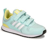Schoenen Kinderen Lage sneakers adidas Originals ZX 700 HD CF C Blauw / Geel