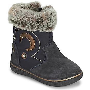 Schoenen Meisjes Snowboots Primigi SNORKY GTX Marine / Brown