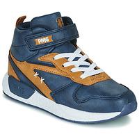 Schoenen Jongens Hoge sneakers Primigi B&G MEGA Blauw / Brown