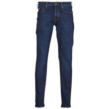Textiel Heren Skinny jeans Scotch & Soda RALSTON REGULAR SLIM Blauw / Donker