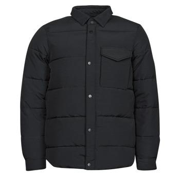 Textiel Heren Dons gevoerde jassen Scotch & Soda WATER-REPELLENT SHIRT Zwart