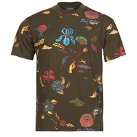 Textiel Heren T-shirts korte mouwen Scotch & Soda PRINTED RELAXED FIT Brown