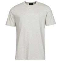 Textiel Heren T-shirts korte mouwen Scotch & Soda GRAPHIC LOGO Grijs