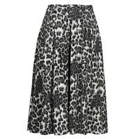 Textiel Dames Rokken See U Soon 21232098 Zwart / Wit