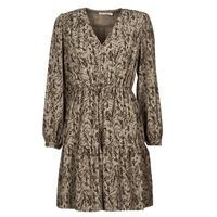 Textiel Dames Korte jurken See U Soon 21221194 Kaki