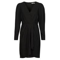 Textiel Dames Korte jurken See U Soon 21222038 Zwart