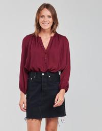Textiel Dames Tops / Blousjes See U Soon 21211057 Bordeaux