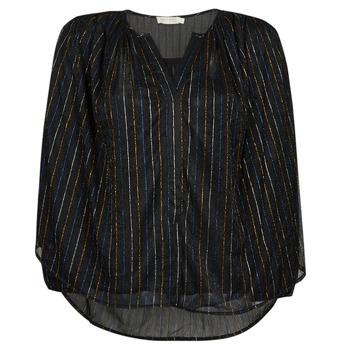 Textiel Dames Tops / Blousjes See U Soon 21212036 Zwart