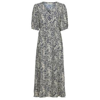 Textiel Dames Lange jurken See U Soon 21221123 Marine / Wit