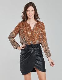 Textiel Dames Tops / Blousjes See U Soon 21212103 Multicolour