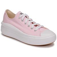 Schoenen Dames Lage sneakers Converse CHUCK TAYLOR ALL STAR MOVE SEASONAL COLOR OX Roze