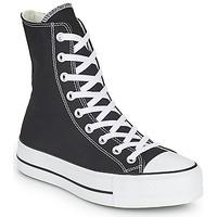 Schoenen Dames Hoge sneakers Converse CHUCK TAYLOR ALL STAR LIFT CORE CANVAS X-HI Zwart
