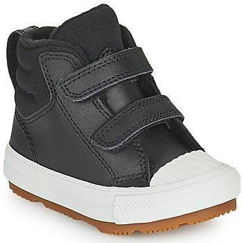Schoenen Kinderen Hoge sneakers Converse CHUCK TAYLOR ALL STAR BERKSHIRE BOOT SEASONAL LEATHER HI Zwart