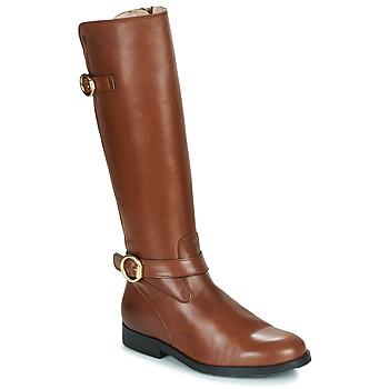 Schoenen Meisjes Hoge laarzen Acebo's 9904-CUERO-T Brown