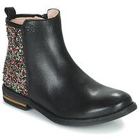 Schoenen Meisjes Laarzen Acebo's 9917VE-NEGRO-T Zwart