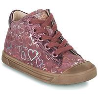 Schoenen Meisjes Hoge sneakers Acebo's 5533EL-GRANADA Roze