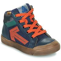 Schoenen Jongens Hoge sneakers Acebo's 5567-MARINO-I Marine
