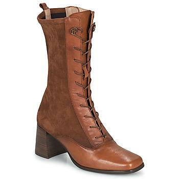 Schoenen Dames Hoge laarzen Hispanitas CHIARA Brown