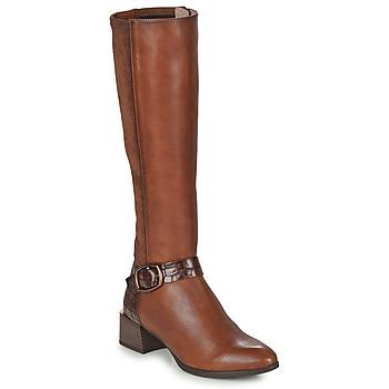 Schoenen Dames Hoge laarzen Hispanitas ALPES Brown