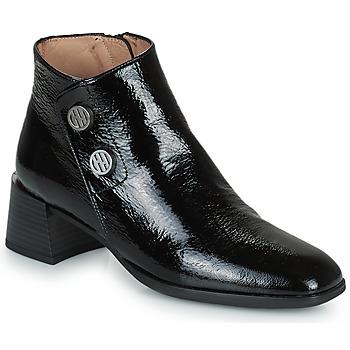 Schoenen Dames Enkellaarzen Hispanitas ALEXA Zwart