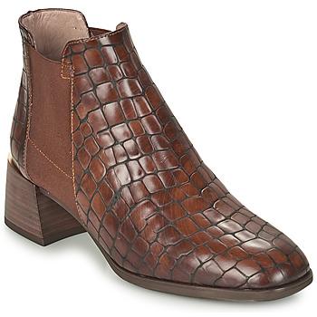 Schoenen Dames Enkellaarzen Hispanitas ALEXA Brown