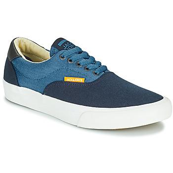 Schoenen Jongens Lage sneakers Jack & Jones JR MORK CANVAS BLOCK Blauw