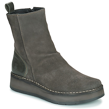 Schoenen Dames Laarzen Fly London RENO Grijs