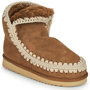 Schoenen Dames Laarzen Mou ESKIMO 18 Brown