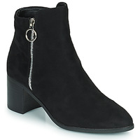 Schoenen Dames Hoge laarzen Moony Mood PETROLIA Zwart