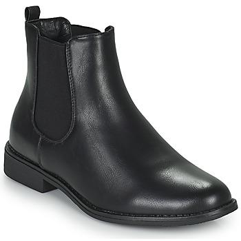 Schoenen Dames Laarzen Moony Mood PIRYL Zwart
