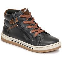 Schoenen Jongens Hoge sneakers Mod'8 KYNATA Marine / Marron