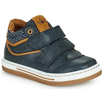 Schoenen Jongens Hoge sneakers Mod'8 KYNATOL Marine / Mosterd