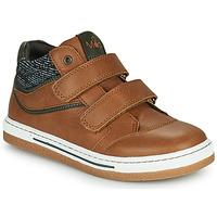 Schoenen Jongens Hoge sneakers Mod'8 KYNATOL Cognac