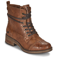 Schoenen Dames Laarzen Mustang 1293501 Brown