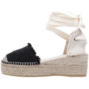 Schoenen Dames Espadrilles Macarena  Zwart