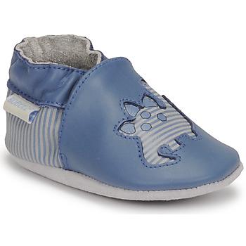 Schoenen Jongens Babyslofjes Robeez DIFLYNO Blauw