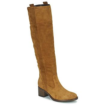 Schoenen Dames Hoge laarzen Gabor 7167914 Cognac