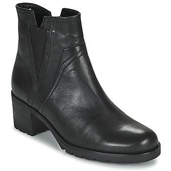 Schoenen Dames Enkellaarzen Gabor 7280417 Zwart