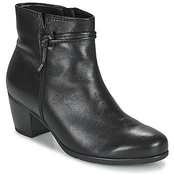 Schoenen Dames Enkellaarzen Gabor 7552227 Zwart