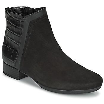 Schoenen Dames Enkellaarzen Gabor 7271227 Zwart