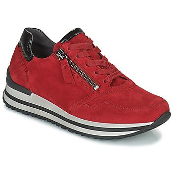 Schoenen Dames Lage sneakers Gabor 7652868 Rood