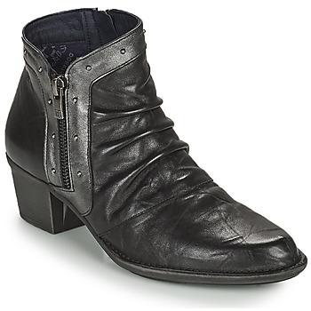 Schoenen Dames Enkellaarzen Dorking DALMA Zwart