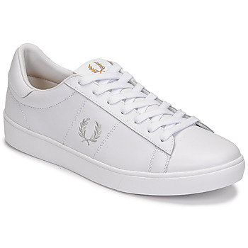 Schoenen Heren Lage sneakers Fred Perry SPENCER LEATHER Wit