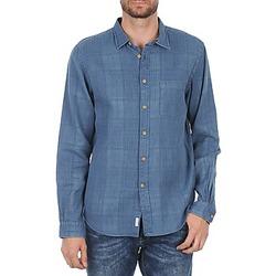 Textiel Heren Overhemden lange mouwen Façonnable JJMCT502000ERE Blauw