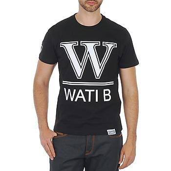 Textiel Heren T-shirts korte mouwen Wati B TEE Zwart