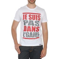 Textiel Heren T-shirts korte mouwen Wati B TEE Wit