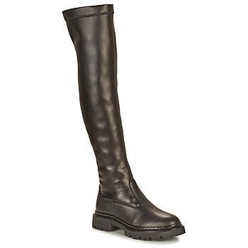 Schoenen Dames Lieslaarzen Ikks BT80105 Zwart